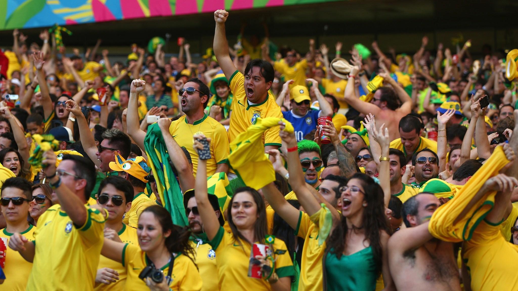 195 - Brazil-Chile [1-1 - Brazil win on penalties (3 - 2)] -- 28 Jun 2014 - 13-00